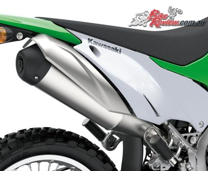 2019 Kawasaki KLX230 exhaust
