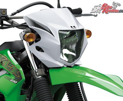 2019 Kawasaki KLX230 headlight