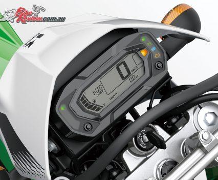 2019 Kawasaki KLX230 dash
