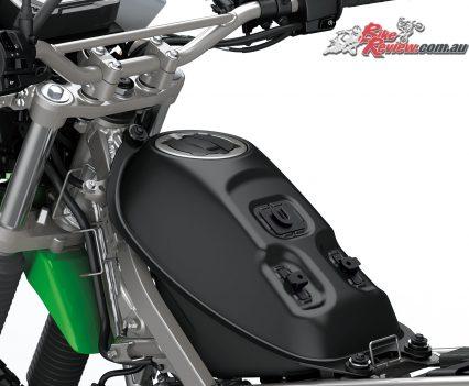 2019 Kawasaki KLX230 fuel tank
