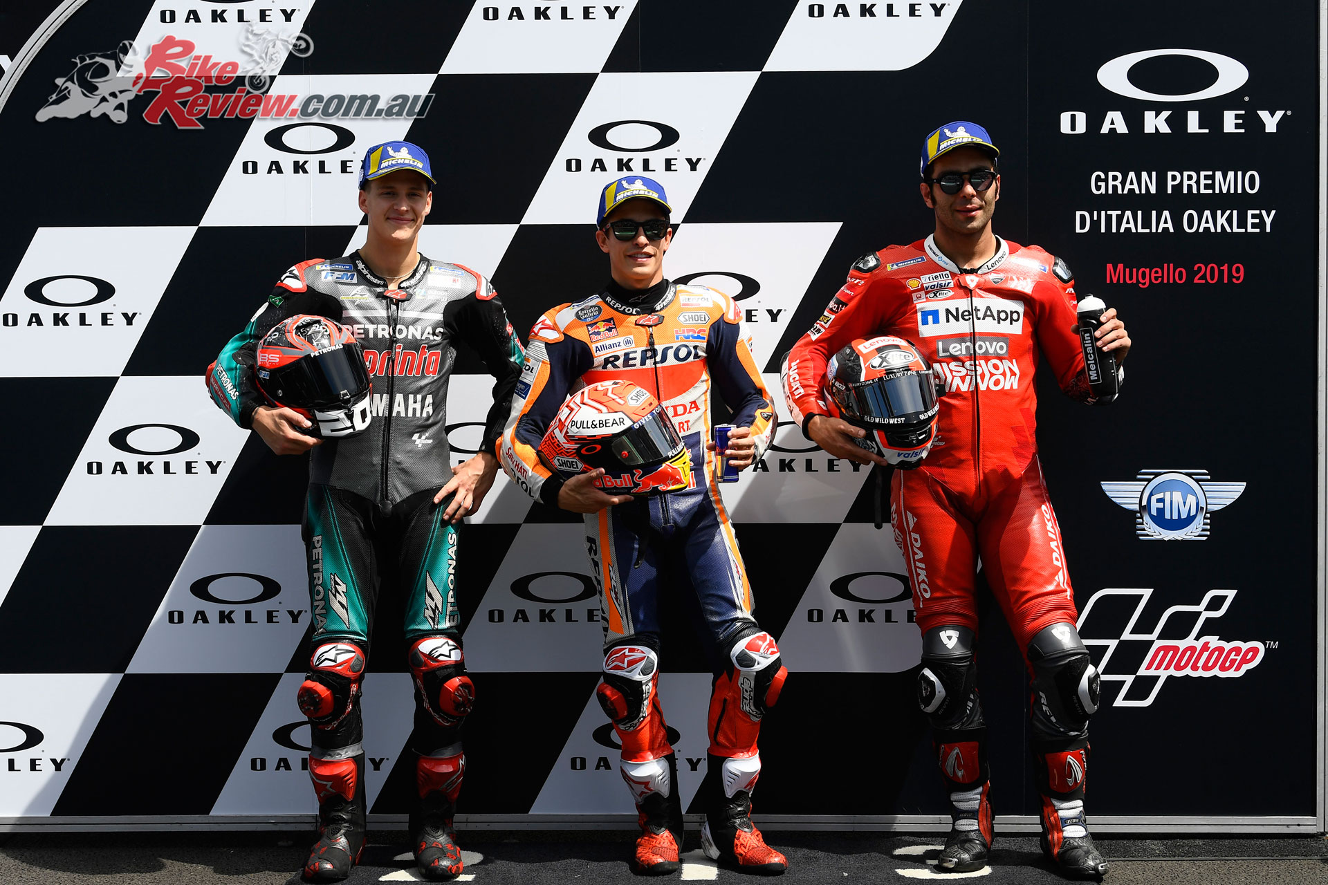 2019 MotoGP Mugello Qualifying Top 3 -