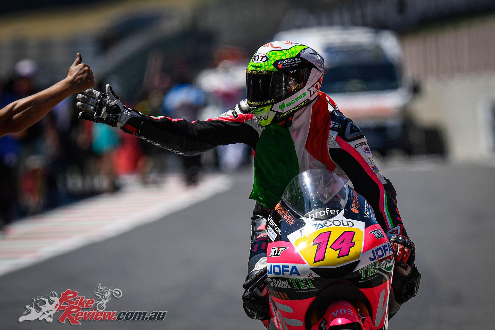 Tony Arbolino - 2019 MotoGP Round 6 Mugello