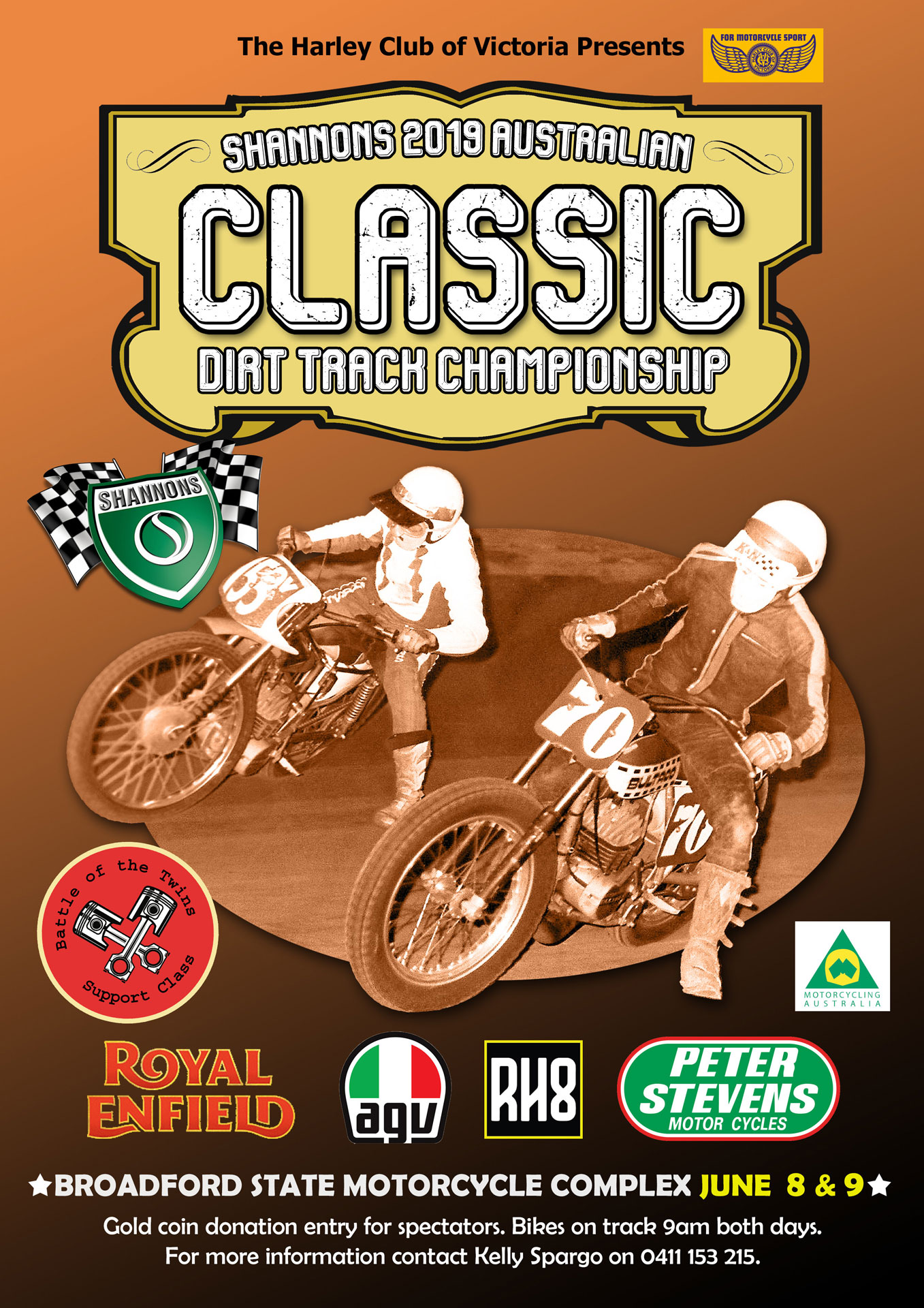 2019 Shannons Australian Classic Dirt Track Championships adds a Women's Class