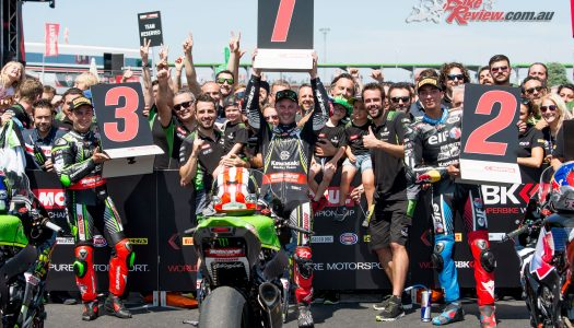 Rea wins Misano Race 1 & 2 – Bautista claims the Sprint victory