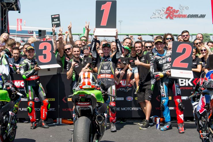 Jonathan Rea closes the gap at Misano WorldSBK 2019