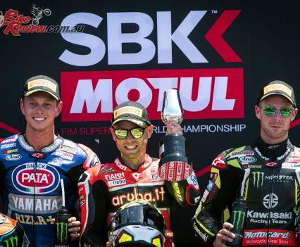 Alvaro claimed the Race 1 podium at Jerez