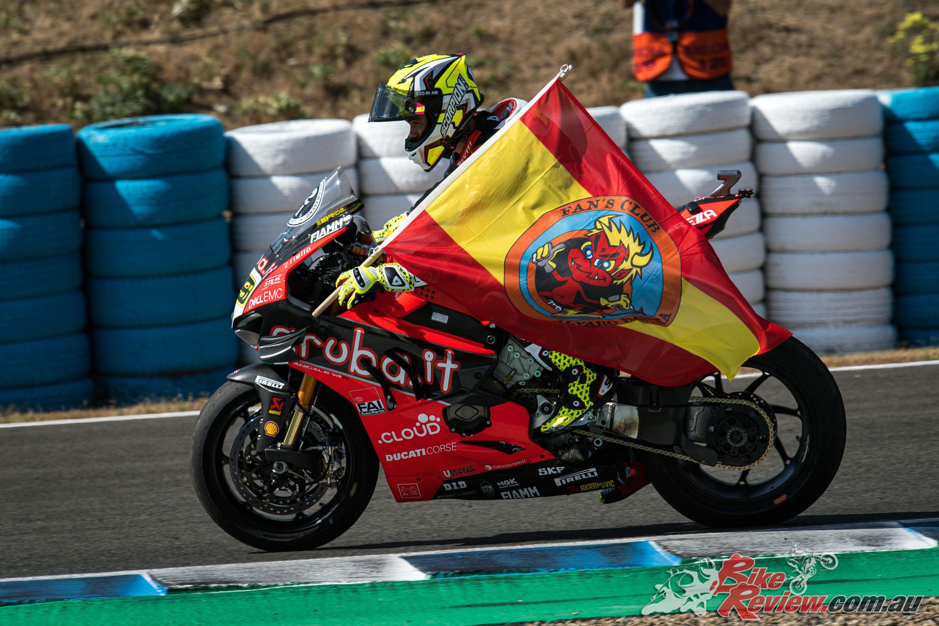 Alvaro Bautista - Jerez WSBK 2019