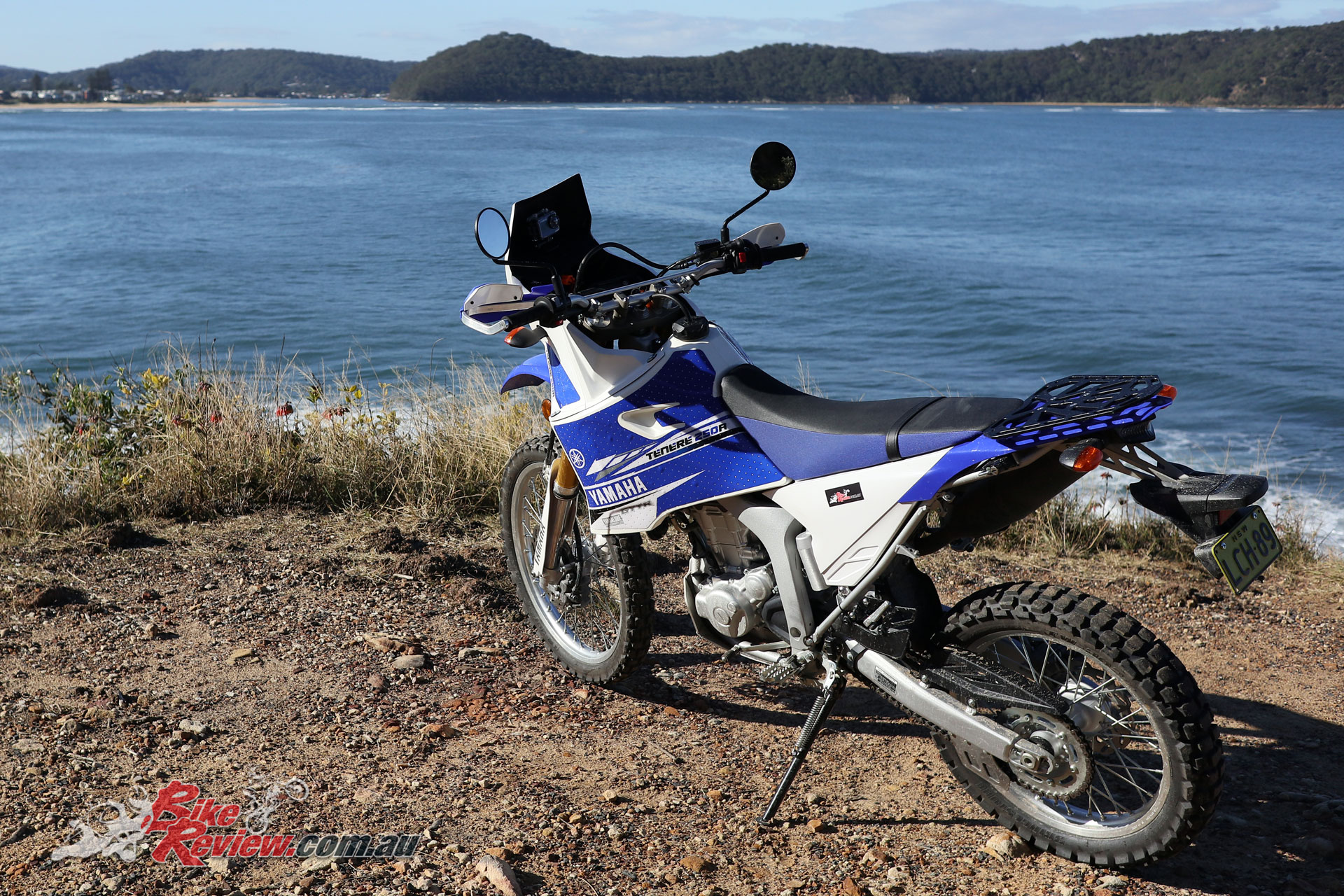 Project WR250R taking in the scenery