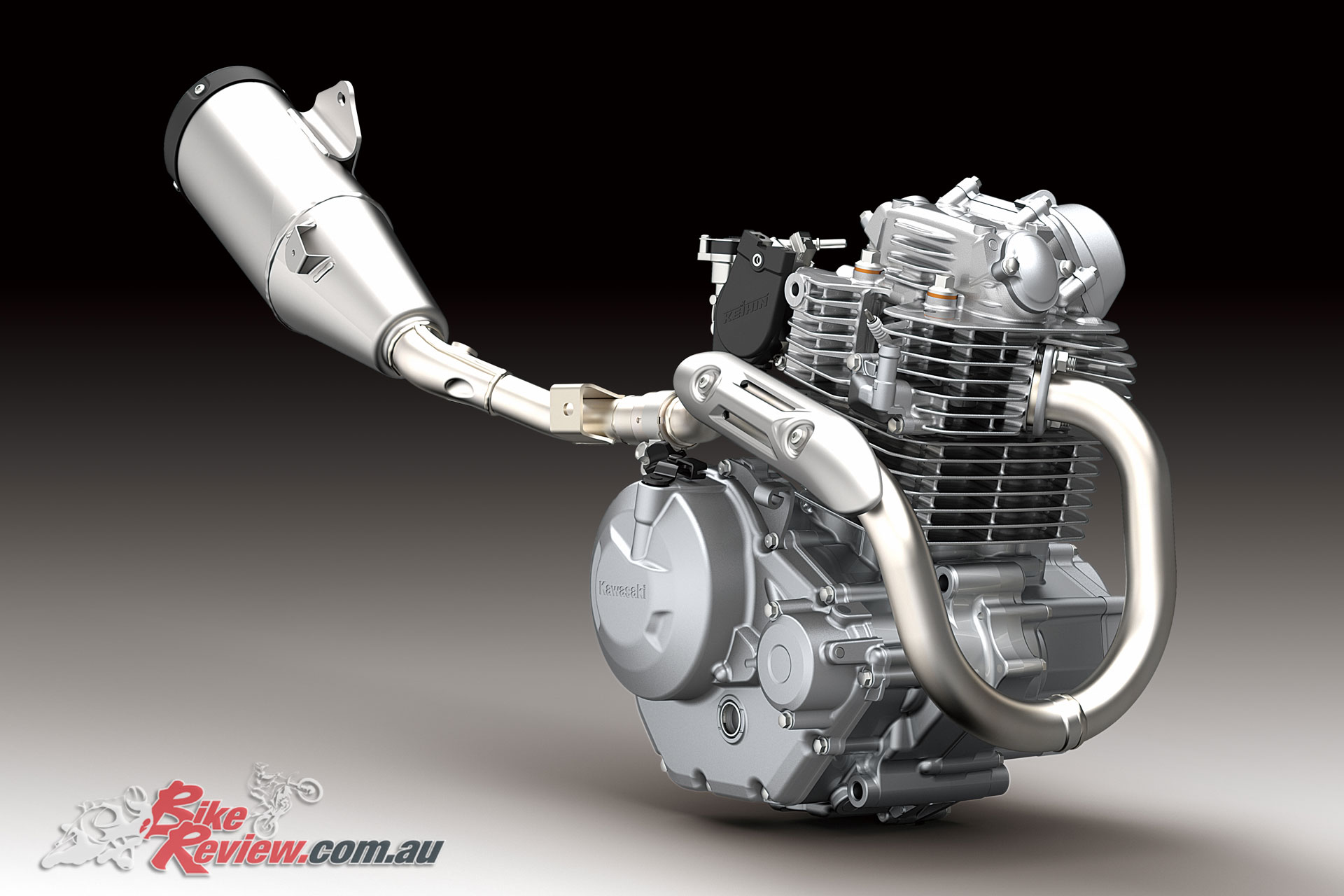 2020 Kawasaki KLX230R single-cylinder air-cooled engine