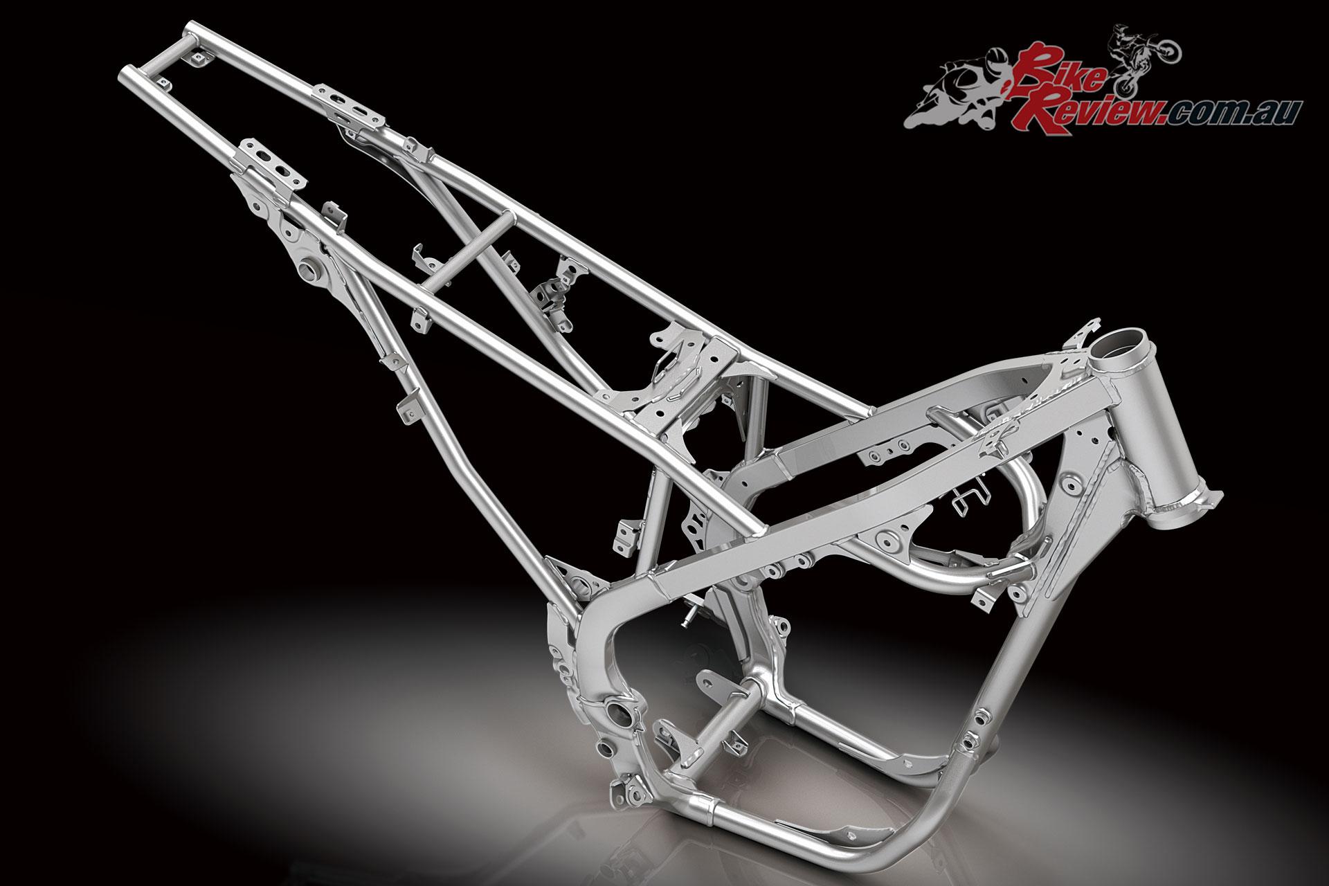 2020 Kawasaki KLX230R frame