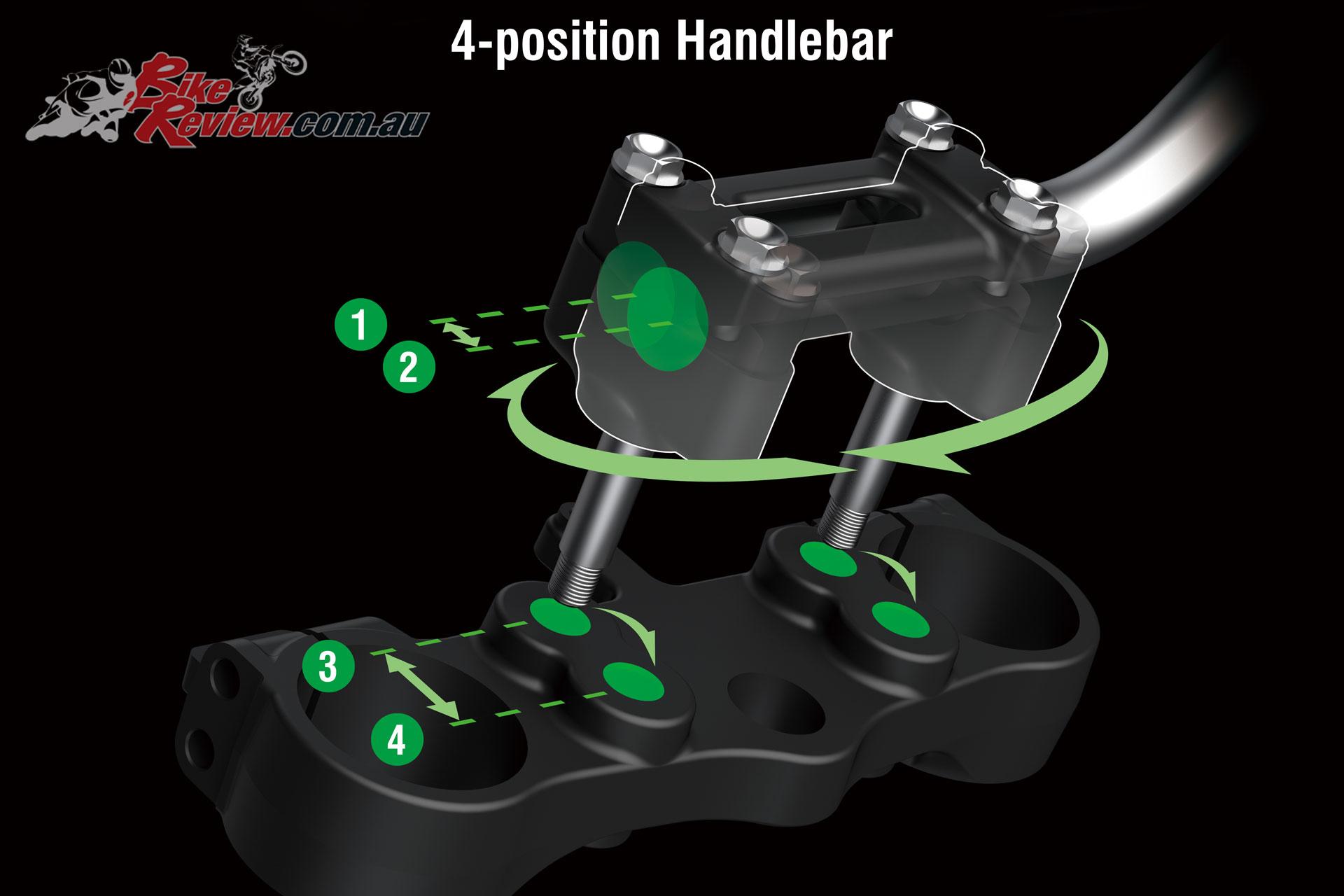 2020 Kawasaki KLX300R - Adjustable handlebars