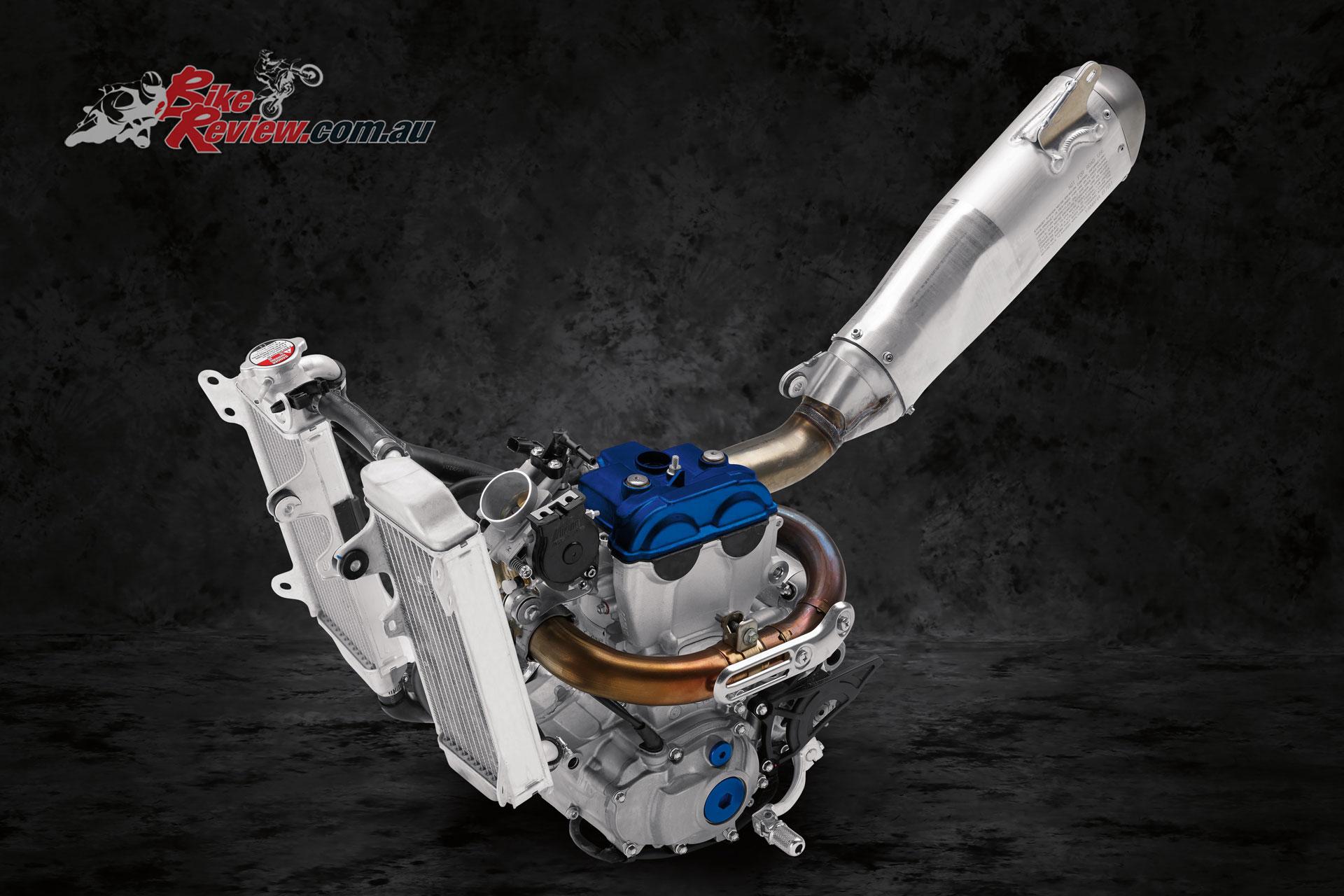 2020 Yamaha YZ250F powerplant