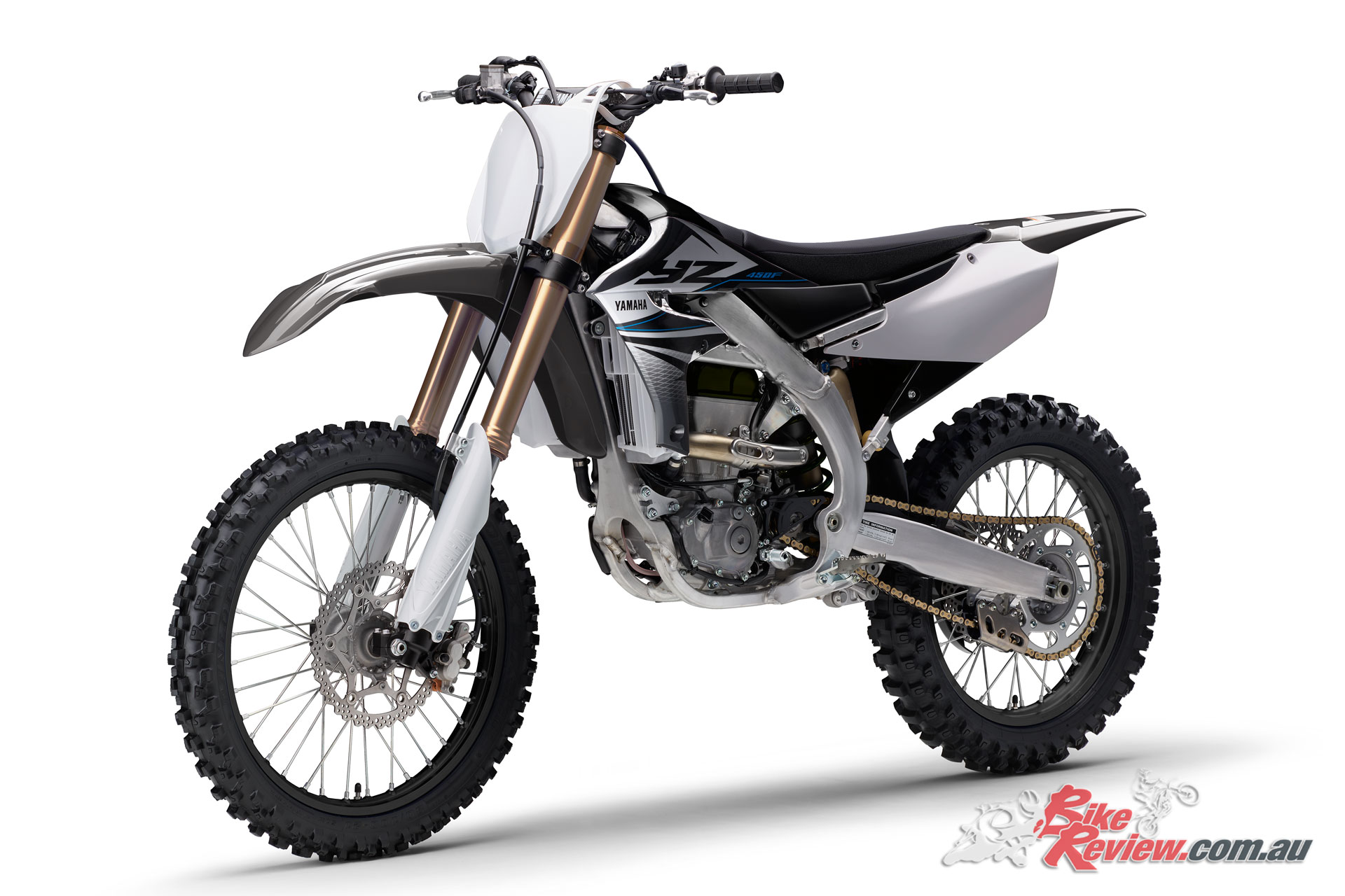 The 2020 Yamaha YZ450F also features updated brakes