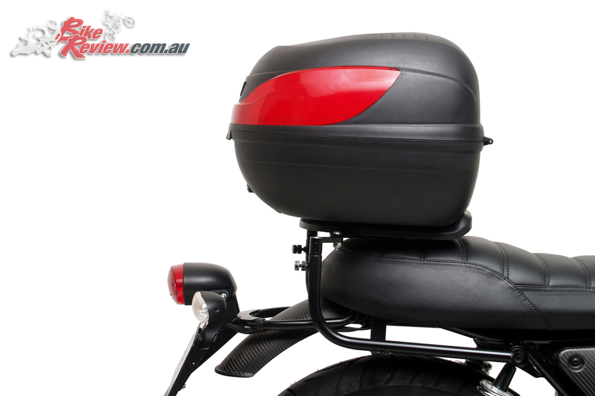 Ventura Luggage now available for the Moto Guzzi V7 III models - Astro 32L Top Box