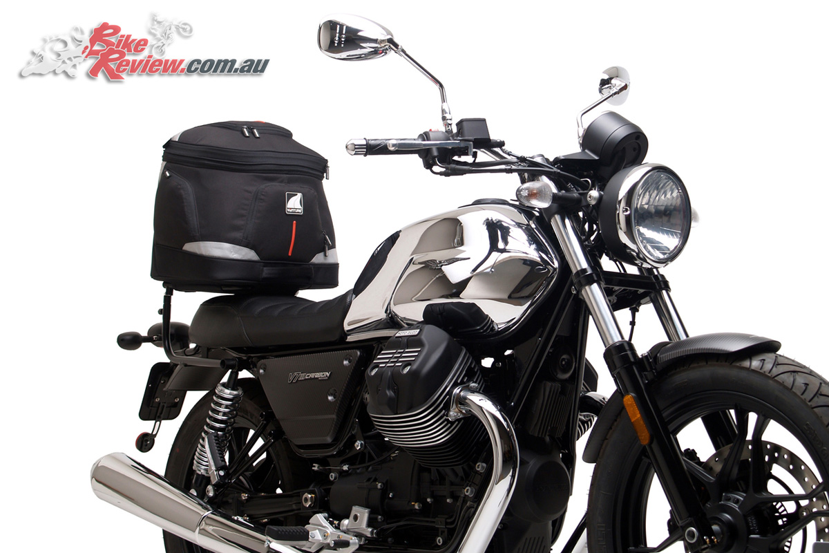 Ventura Luggage now available for the Moto Guzzi V7 III models - EVO-40 Touring Kit