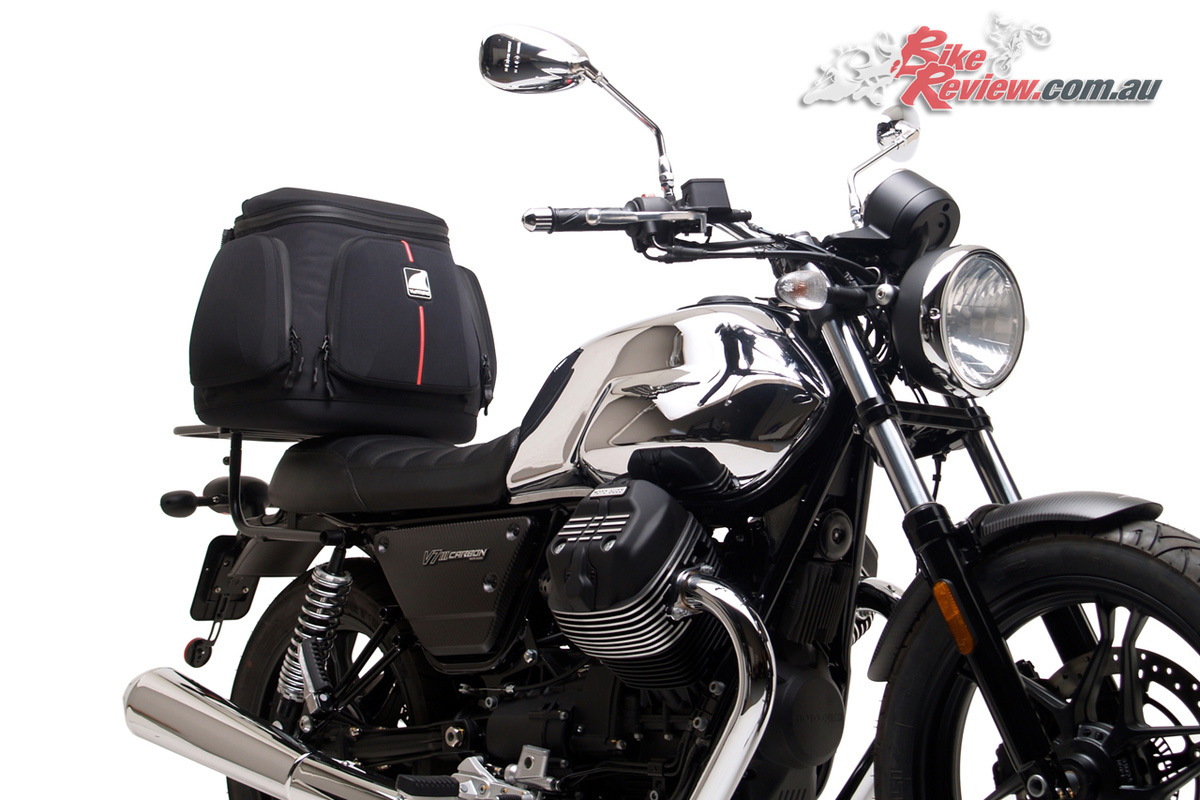 Ventura Luggage now available for the Moto Guzzi V7 III models - Mistral 47L Touring Kit