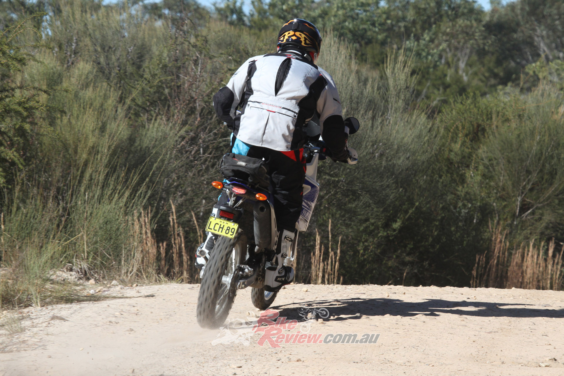 We've got a set of Bridgestone E50s to replace the Trail Wings on the WR, for more serious off road ability.