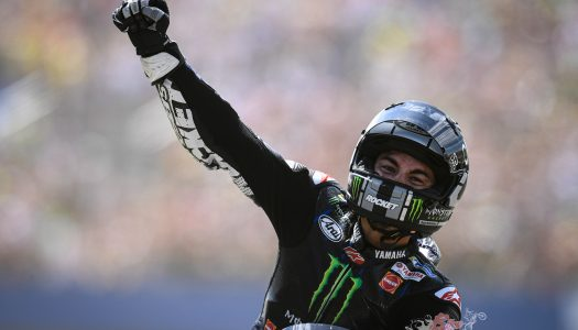 MotoGP News Vinales takes on Marquez and comes out on top