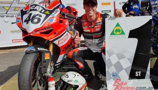 'Mad' Mike Jones leads ASBK Superbike after Morgan Park
