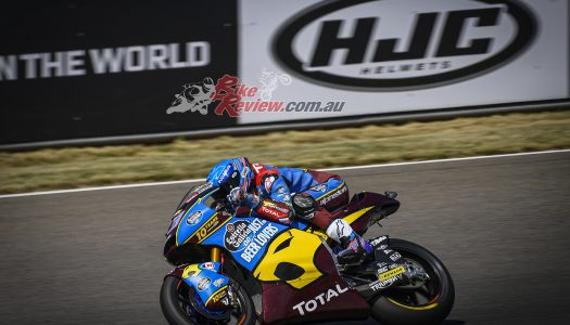 Alex Marquez snatches Moto2 pole from Marini and Schrotter
