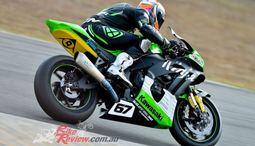 Kawasaki BCPerformance report from Morgan Park ASBK, Round 4