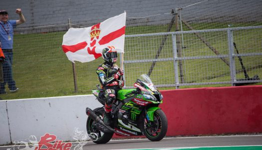 Rea Leads the Championship After Donington Success