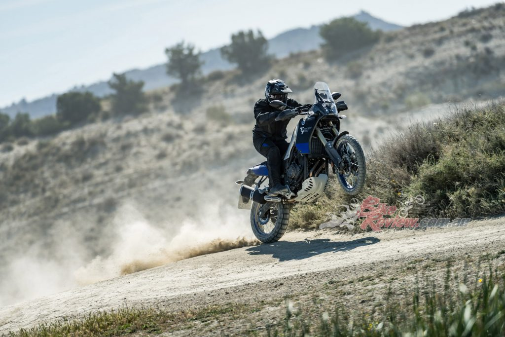 The Tenere 700 is a bike that will suit the novice or the expert adventure rider. It was built with mostly off road in mind but lots of on road testing made sure it is super capable as a tourer.