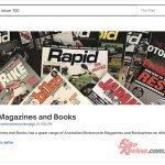 Rapid Bikes, Knee Down, UCBE magazine available
