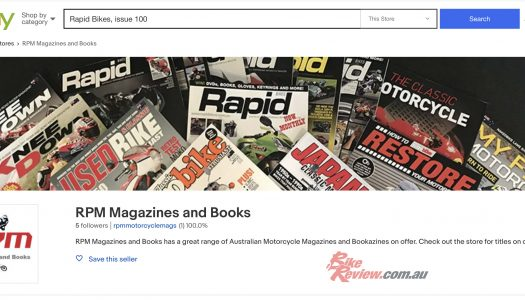 Rapid Bikes, Knee Down, UCBE magazine available