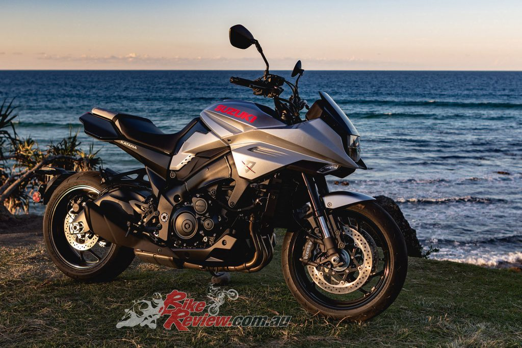 The KATANA is based on the GSX-S1000 nakedbike first introduced in 2015.