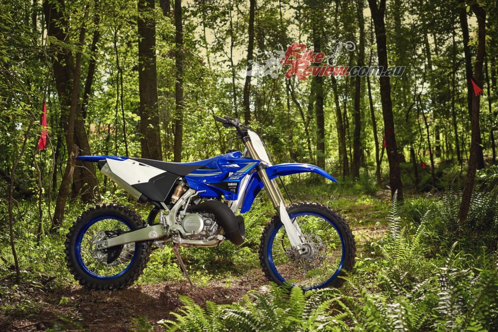 Among the enduro bikes eligble for the promotion is the 2020 YZ250X, one of Yamaha's two-stroke enduro machines.
