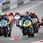Di Meglio takes wet Austrian MotoE™, title favourites crash