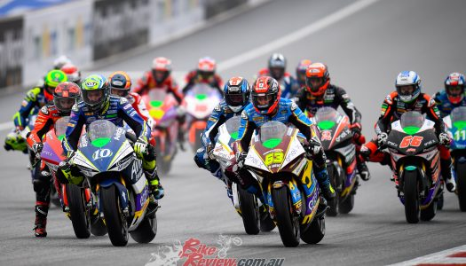 Di Meglio takes wet Austrian MotoE™, title favourites crash