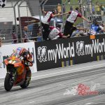 Binder wins for KTM in Austria, Remy crashes out of lead battle.
