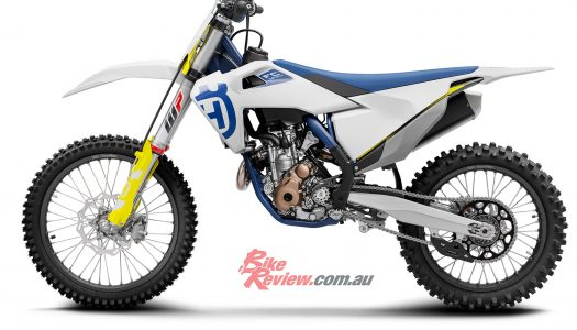 Husqvarna motocross models updated for 2020