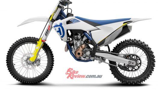 Husqvarna motocross models updated for 2020