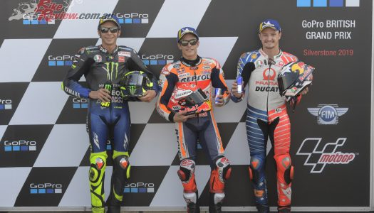 Silverstone Saturday: Marquez, Rossi, Miller Showdown…