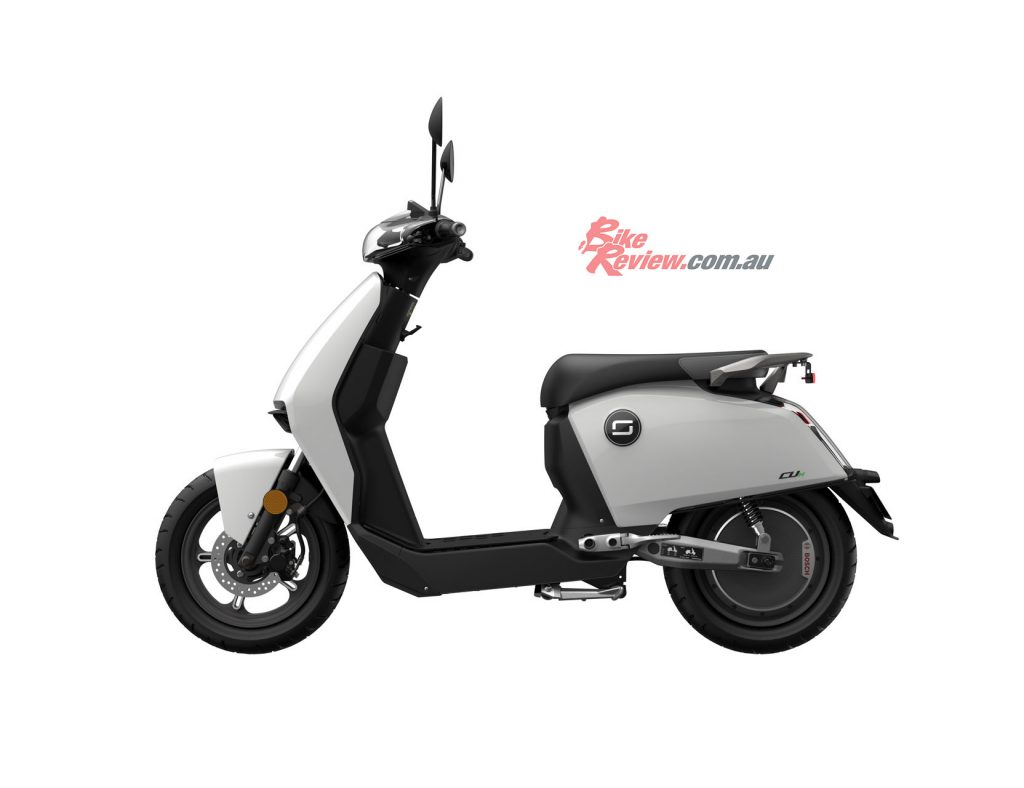 The Super SOCO CUX will be at the forefront of eMoped's ride-share solution, with the a fleet of 50 fully-electric mopeds ready for launch.