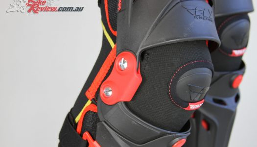 Gear Review: Fly Racing 5 Pivot Knee Guard System