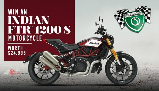 Last chance to win an Indian FTR 1200 S from Shannons