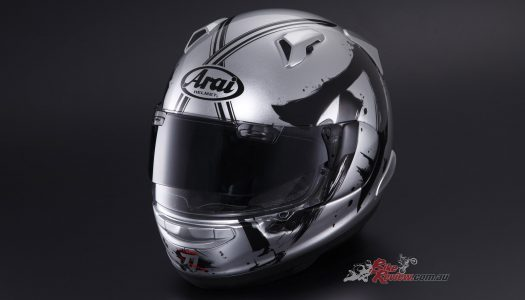KATANA Arai QV-Pro helmet now available from Suzuki Dealers