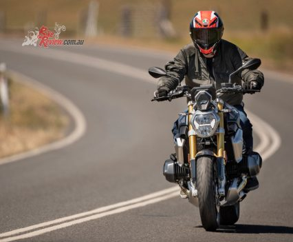 2019 BMW R 1250 R Exclusive, in Road, offers a comfy ride as the ESA takes over and you can just relax and take in the travels.