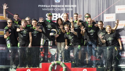 Rea wins to clinch fifth WorldSBK title at Magny-Cours