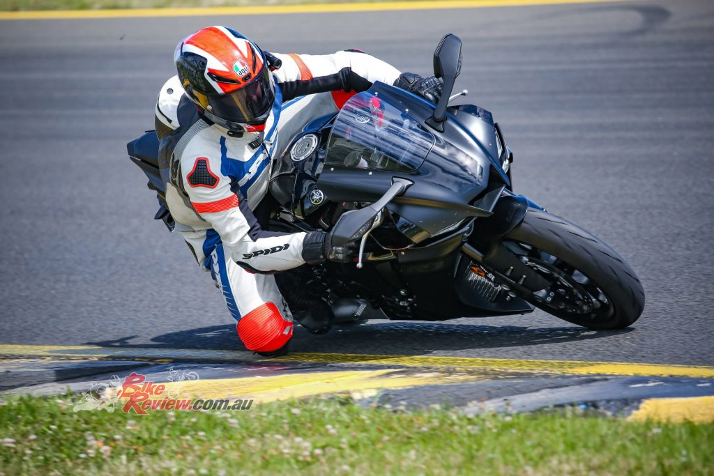The standard R1 settings were quite soft for track duties but the bike is less tiring to ride than it was.