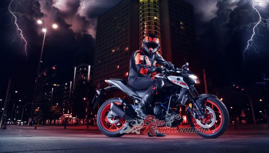 Heavily revised Yamaha MT-03 here mid 2020, price TBA.