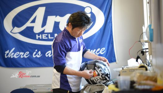 Tech Talk: Arai Helmets with Simon Crafar