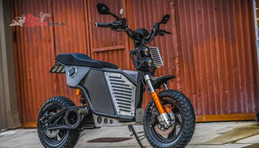 Fonzarelli release the all-new Aussie NKD electric motorcycle