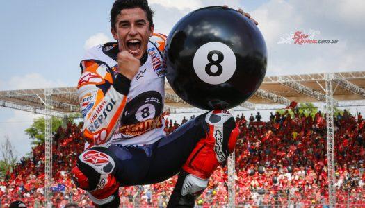 MotoGP: Marquez makes it eight World Titles!