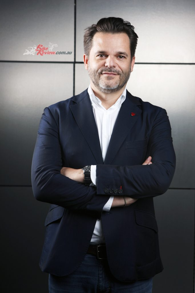 Sergi Canovas – Managing Director Ducati Australia and New Zealand)