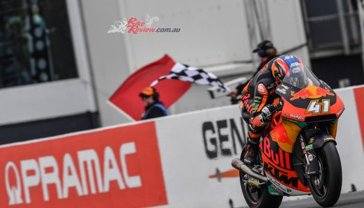 Moto2: Remy fights to sixth while KTM rule Down Under